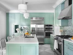 Kitchen Design Colors Ideas Color Ideas For Painting Kitchen Cabinets Hgtv Pictures Hgtv 34 Best Kitchen Paint Colors Ideas For Popular Kitchen Colors Best Colors To Paint A Kitchen Kitchen Paint Colors, Painting Kitchen Cabinets, Kitchen Cupboards, Layout Design, Küchen Design, Design Color, Kitchen On A Budget, Diy Kitchen, Kitchen Ideas