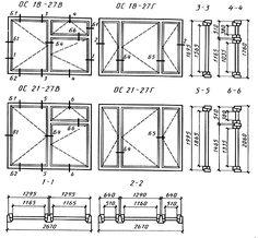 гост 11214-86 окна и балконные двери