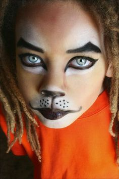 Great cat makeup! 60 Extraordinary Face Painting - Designs Mag