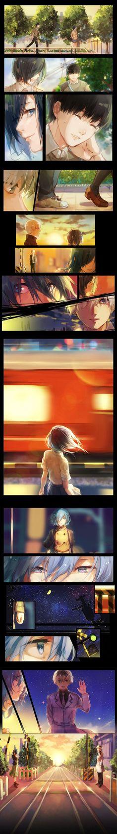 #Anime #TokyoGhoul ❤❤❤