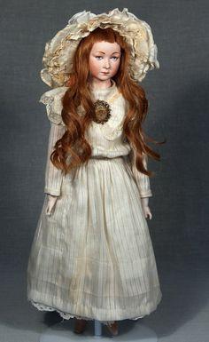 DeFuisseaux Character Lady Doll~Belgium