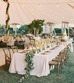 Wedding Table Garden wedding styling perfection #wedding #weddings #weddinginspiration #weddingdresses #bridesmaids #bridesmaidsdresses #bridalgowns