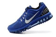 finest selection 7eed2 60ed6 Billig Nike Air Max 2013 Herren Royal Blue   Weiß zum Verkauf Air Max  Essential,