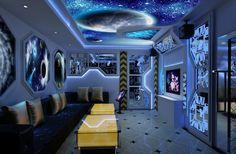 Space Themed Bedroom 4