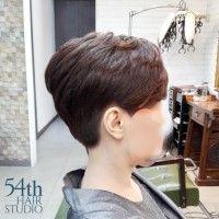 중년여성 숏컷 Hair, Strengthen Hair