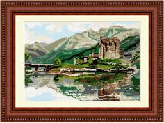 Brigantia Needlework Eileen Donan Castle Tapestry Picture Kit in Tent Stitch, Multi-Coloured by Jacksons of Hebden Bridge Ltd, http://www.amazon.co.uk/dp/B00301GK32/ref=cm_sw_r_pi_dp_lUT7sb0MA9HSP