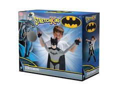 Stretchkins BATMAN Life-size 28-48 inch Plush Toy You Can Play With 3-8 yrs NEW! #Stretchkins