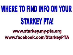 WWW.STARKEY.MY-PTA.ORG  WWW.FACEBOOK.COM/STARKEYPTA