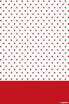 Red spotty iPhone wallpaper Polka Dot Background, Background Patterns, Iphone Wallpaer, Christmas Scrapbook Paper, Decoupage, Kids Room Wall Decals, Cool Wallpapers For Phones, Borders For Paper, Cute Backgrounds