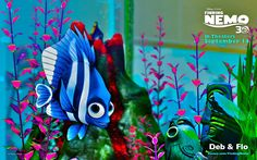 Finding Nemo Wallpaper: Deb and Flo Disney And Dreamworks, Disney Pixar, Finding Dory, Look At You, Childhood, Christmas Ornaments, Wallpaper, Holiday Decor, Animals