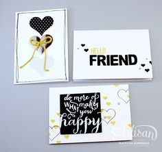 Create with Kaitlyn: Hello Life Note Cards - Stampin' Up! Artisan Blog Hop
