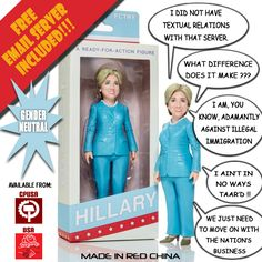 The New Hillary Doll