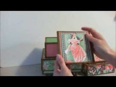 Stacked Boxes Mini Album by Pattys Crafty Spot
