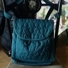 """Vary you backpack purse 12.5"""" H x 13.5"""" W x 4""""D Front patch pocket Interior zipper pocket and two flat pockets Large open back compartment with zipper closure Detachable strap can be worn four different ways (backpack, shoulder bag, crossbody bag or a ne shoulder backpack) Thirty-one Bags Backpacks"""