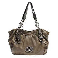 84853d26f5 Kathy Van Zeeland Crown Royale Tote Purse Bag