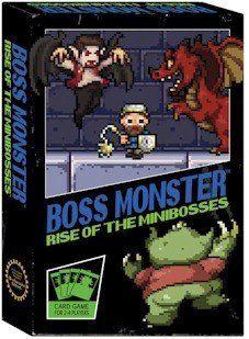Rise Of The Minibosses Boss Monster Card Games Monster Cards