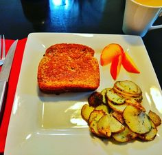 ✴DeeDee Norris- Coffee, French Toast, Fried Potatoes, And Nectarine Slices This Morning✴