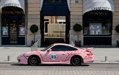 Pink Porsche 996 GT3