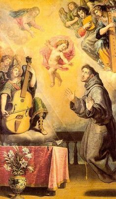 The vision of Saint Anthony of Padua (1631), Vincenzo Carducci (c.1578-1638)