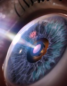 New tiny and long-lasting eye implants, developed in the lab of Caltech's Hyuck Choo, operate without electronics or radio transmitters. #technology #photography #amazing #internet #newsoftheday #news #bestoftheday #wearabletechnology #wearables