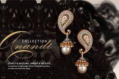 Anandi 5 Manubhai Jewellers, Jewelry Ideas, Jewelry Accessories, Tribal Fashion, Indian Jewelry, Diamond Jewelry, Bangles, Delicate, Sign