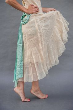1920s FLAPPER Dress with Ribbonwork All by AMagnificentMess