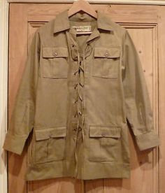 Iconic Safari jacket just sold on Ebay for $2,358.85.