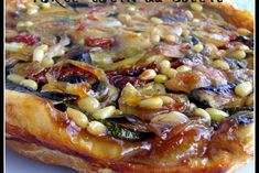 Tarte tatin du soleil Parfait, Vegetable Pizza, Food And Drink, Quiches, Vegetables, Saint Jacques, Vegetable Tart, Tarts, Recipes For Dinner