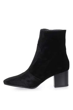 MOSCOW Velvet Western Boots $140