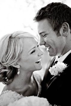 I think these kind of pictures are absolutely gorgeous and tell such a story!!  #I want a man that makes me laugh