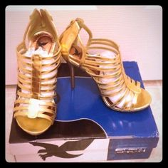 Shiekh High Heels Used for few hours only. Comes with original box. Shiekh Shoes Heels