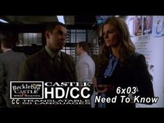 "Castle 6x03 ""Need To Know"" Beckett Is Back in Front of Murder Board at 12th Precinct (HD/CC)"