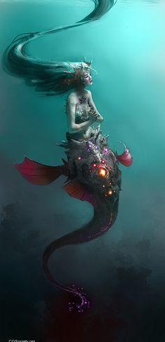 mermaid illustration
