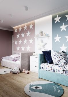 52 Ideas For Baby Boy Bedroom Ideas Small Rooms Toddler Bed Small Room Bedroom, Baby Bedroom, Baby Room Decor, Girls Bedroom, Small Rooms, Twin Room, Girl Nursery, Nursery Decor, Childs Bedroom