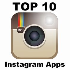 "Read My New Blog Post! ""Top 10 Instagram Apps"" http://petertrapasso.com/top-10-instagram-apps"