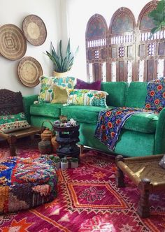 Beautiful boho chic accents