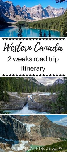 Western Canada Road Trip from Calgary to Vancouver in 2 weeks - - Our spectacular itinerary for Western Canada will blow your mind! It includes all gems you can find on road trip from Calgary to Vancouver & budget tips. Yoho National Park, Parc National, National Parks, Jasper National Park, Alberta Canada, Calgary, Canadian Travel, Canadian Rockies, Rocky Mountain National