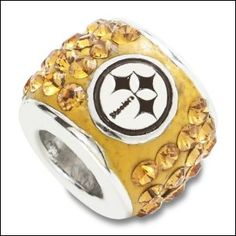 Pittsburgh Steelers Pandora Charms ... BF would love this!!