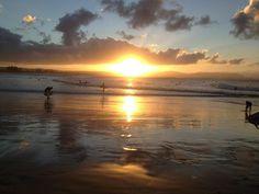the Pass,sunset-Byron Bay