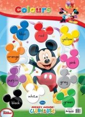 Colours Charts, Mickey Mouse, Butterfly, Colours, Purple, Wall, Products, Graphics, Michey Mouse