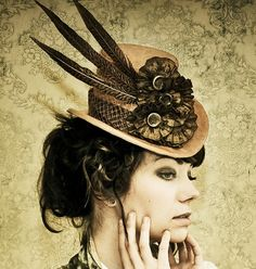 The Patience - Steampunk Inspired Top Hat
