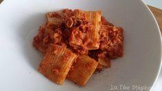 La Fée Stéphanie: Sauce bolognaise de pois chiches, recette végétali...