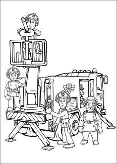 http://www.kids-n-fun.com/Coloringpages/Fireman-Sam