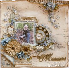 Gabriellep's Gallery: Love Beyond Measure *Maja Design & The Scrapbook Diaries**