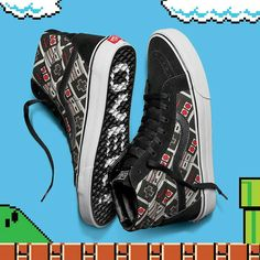 7ab7a71b12 Vans Limited Edition SK8-HI  Nintendo  Game over  Vans Limited Edition