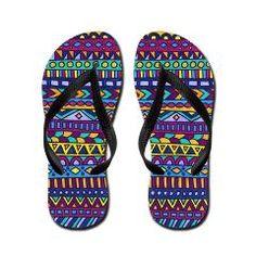 Then Again Flip Flops by Erin Jordan