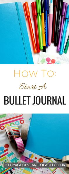 how to start a bullet journal, how should I start a bullet journal. All that you need to know on start a Bullet journal, with what you need, spread ideas and creative ways to make it personal to you