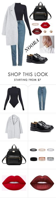 """""""Без названия #11"""" by t-i-m-e ❤ liked on Polyvore featuring Ivy Park, Topshop, MANGO, Tricker's, Lime Crime and River Island"""