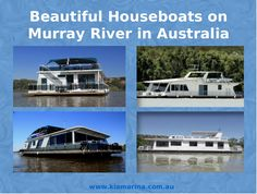 Find luxury and beautiful houseboats at affordable rental charges with unforgettable experience of wonderful holiday on the Murray River South Australia. Houseboat Rentals, Murray River, Budget Holidays, Houseboats, South Australia, Bucket, Mansions, Luxury, House Styles