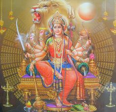 Hindu Goddess Durga- Confidence / Coming out / Emotional Strength/ Getting even